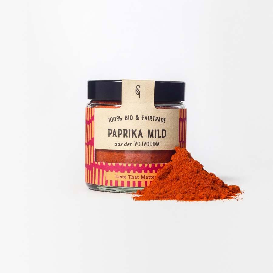 Mildes Paprika-Pulver - mildes Paprika-Gewürz