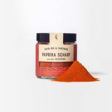 Scharfes Paprika-Pulver - Scharfes Paprika-Gewürz