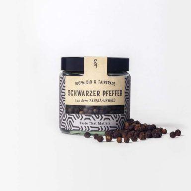 Schwarzer Pfeffer - Bio-Pfeffer