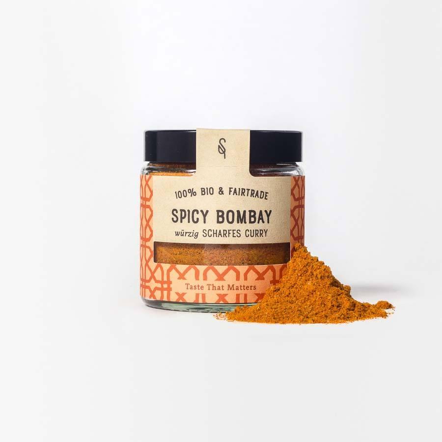 Curry-Pulver Curry-Gewürz scharf