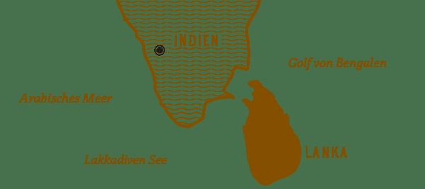 Kerala Indien - Gewürze und Gewürzmischungen online kaufen