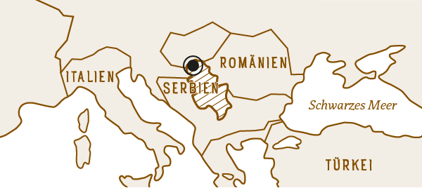 Vojvodina in Serbien