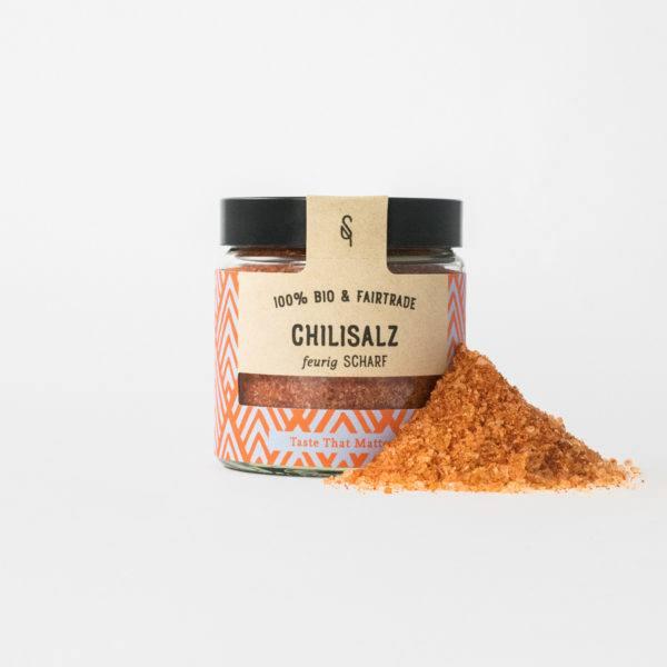 Bio-Gewürze - Chili - Salz