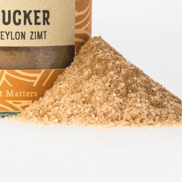 Zimt - Zucker - Bio-Gewürze