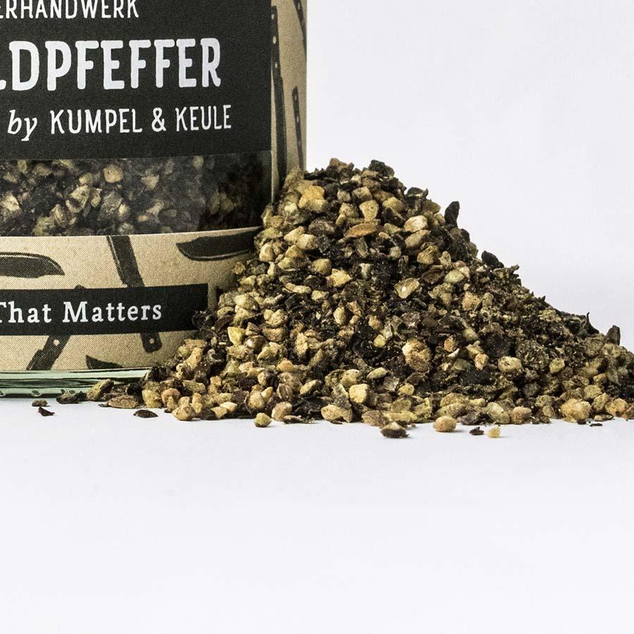 Urwaldpfeffer - Steakpfeffer - BBQ-Gewürze - Bio-Gewürze