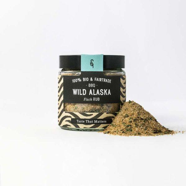 Wild Alaska - BBQ Gewürze - Bio-Gewürz