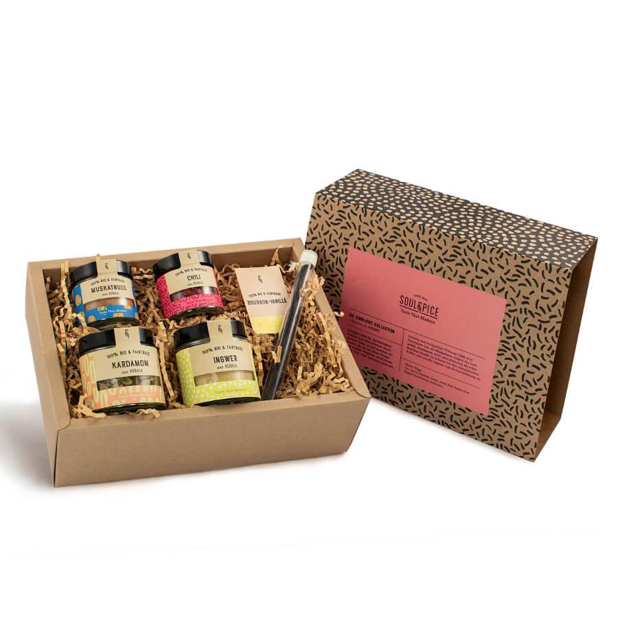 Gewürz-Set für Verliebte - Gewürz-Box