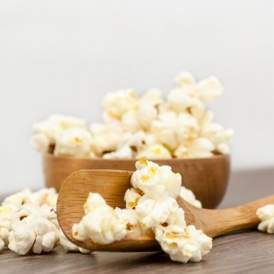 Gesundes Popcorn - Rezept