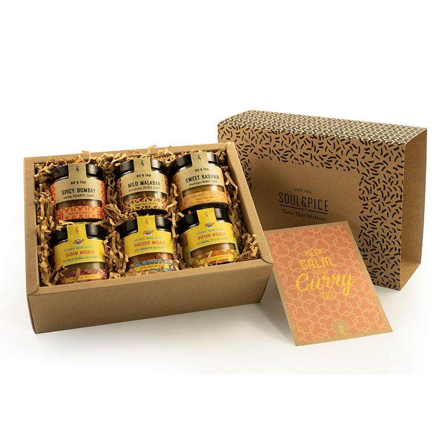 Soulspice_Geschenkbox Curry Kollektion